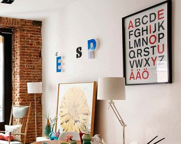 Eclectic Madrid Apartment-12-1 Kindesign