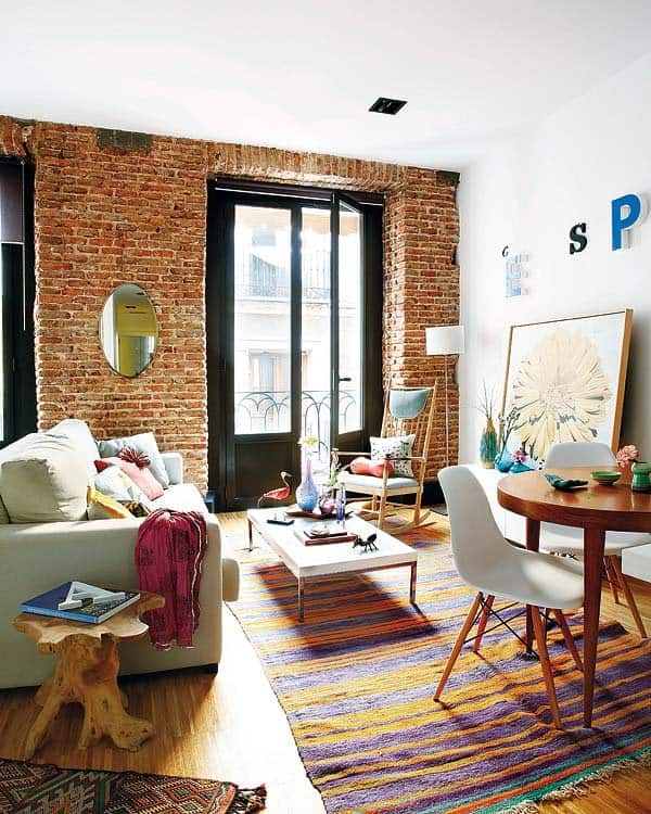 featured posts image for Charming and eclectic apartment in Madrid