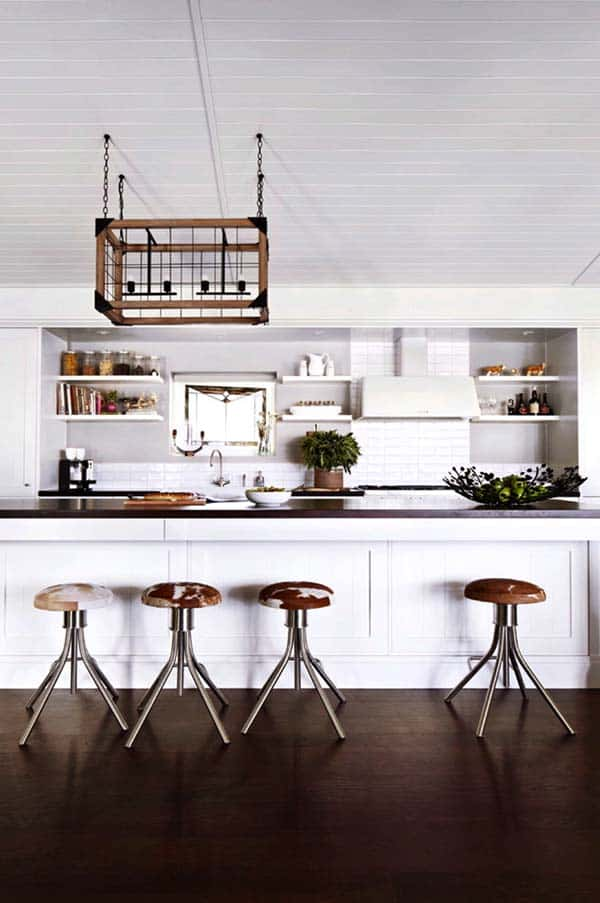 Farmhouse Style Kitchen-04-1 Kindesign