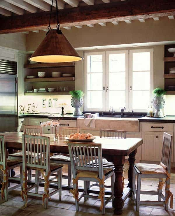 Farmhouse Style Kitchen-22-1 Kindesign