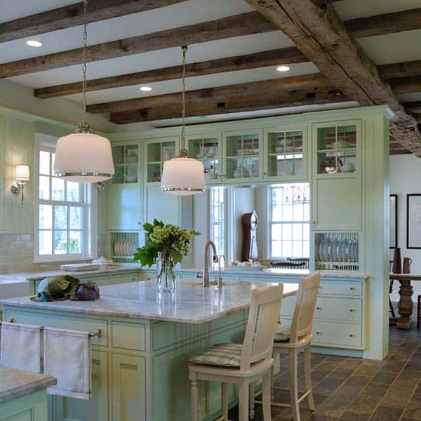 Farmhouse Style Kitchen-28-1 Kindesign