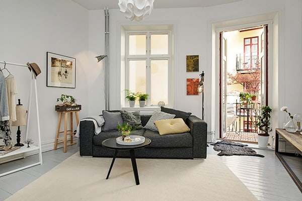 Gothenburg Studio Apartment-03-1 Kindesign