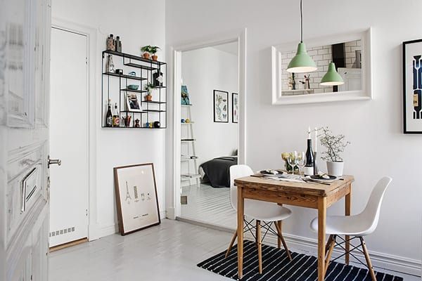 featured posts image for Scandinavian studio apartment inspiring a cozy, inviting ambiance