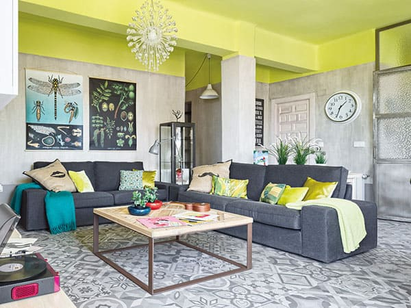 featured posts image for Vibrant colored Nordic style pad transformed in Murcia, Spain