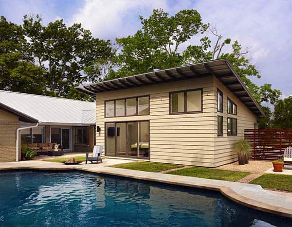 featured posts image for 60's Ranch house gets a fabulous modern update in Texas