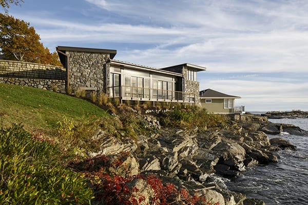 featured posts image for Stunning rocky shore summer cottage on Boston Harbor