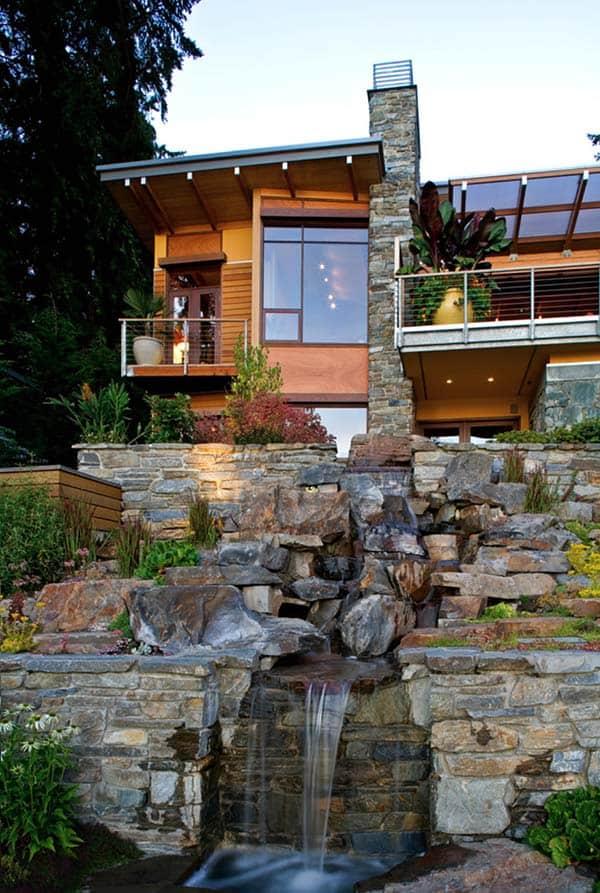 Tranquil Backyard Waterfalls-08-1 Kindesign
