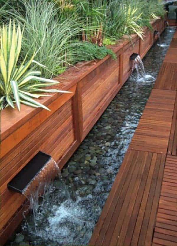 Tranquil Backyard Waterfalls-12-1 Kindesign