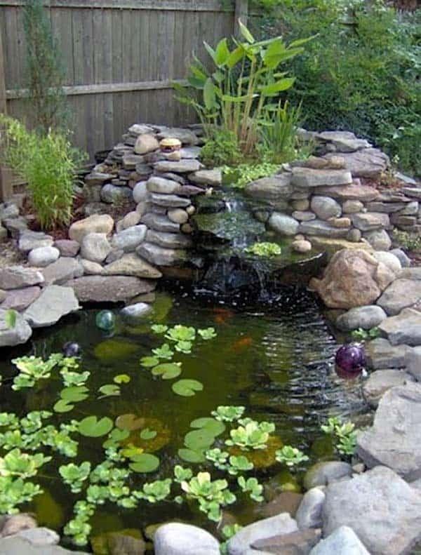 Tranquil Backyard Waterfalls-15-1 Kindesign