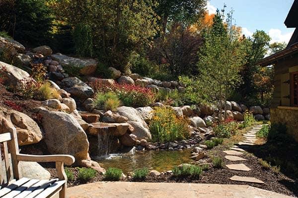 Tranquil Backyard Waterfalls-19-1 Kindesign
