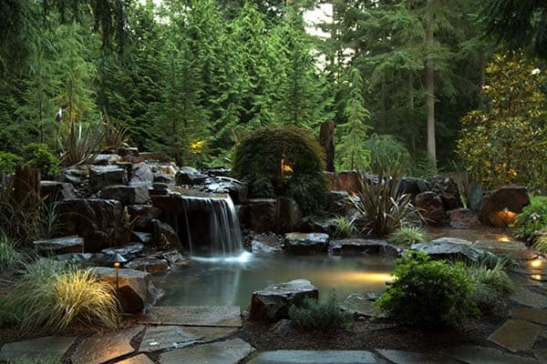Backyard Waterfalls Pictures 53 incredibly fabulous and tranquil backyard waterfalls
