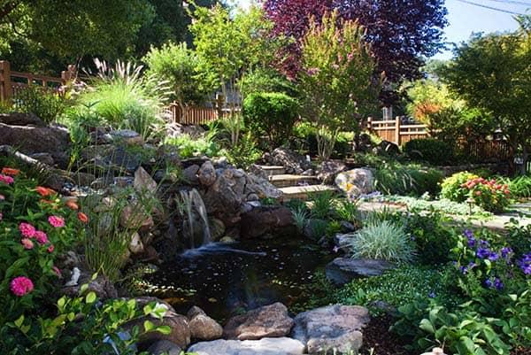 Tranquil Backyard Waterfalls-29-1 Kindesign