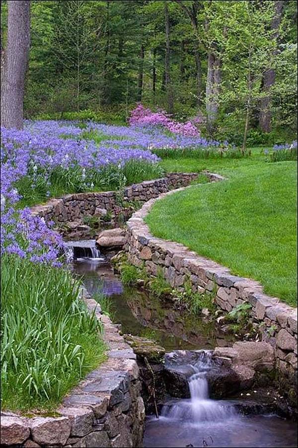 Tranquil Backyard Waterfalls-30-1 Kindesign
