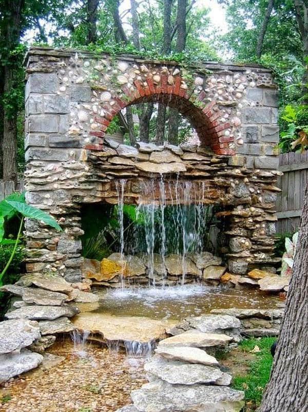 Tranquil Backyard Waterfalls-34-1 Kindesign