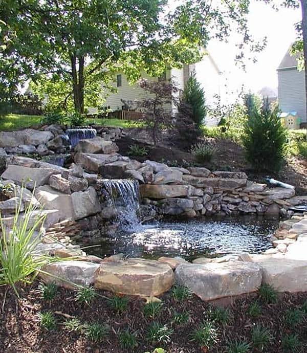 Tranquil Backyard Waterfalls-35-1 Kindesign