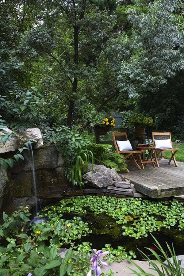 Tranquil Backyard Waterfalls-38-1 Kindesign