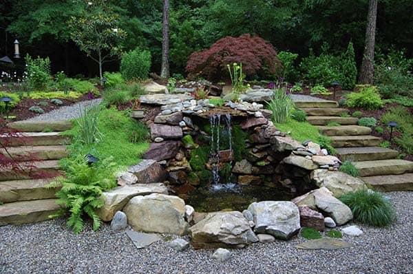 Tranquil Backyard Waterfalls-46-1 Kindesign