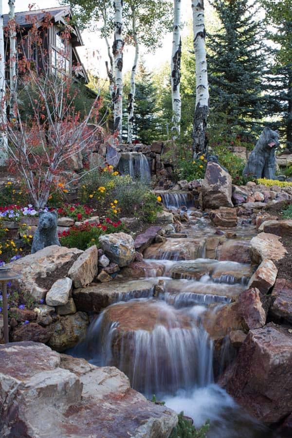 Tranquil Backyard Waterfalls-47-1 Kindesign