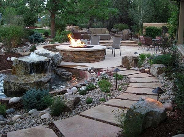 Tranquil Backyard Waterfalls-48-1 Kindesign