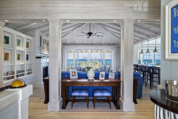 featured posts image for Exhilarating Florida beach cottage with playful design details