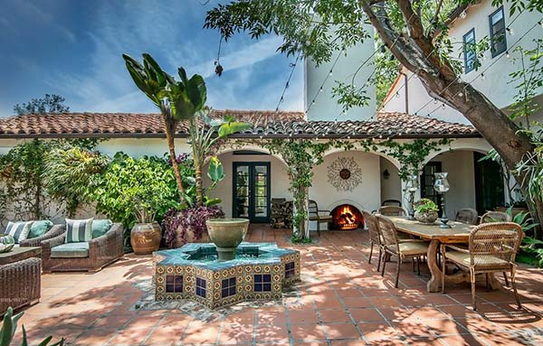 featured posts image for Romantic Spanish style villa in Beverly Hills