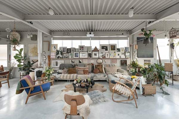 featured posts image for Fascinating detached warehouse conversion in London