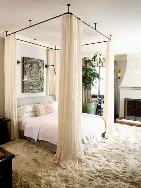 Dreamy Bedroom Decorating-16-1 Kindesign