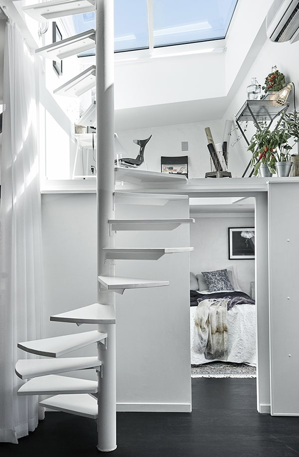 Gothenburg Attic Apartment-13-1 Kindesign