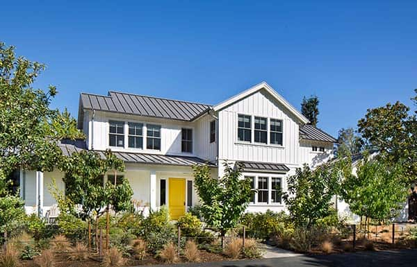 featured posts image for Bright and airy modern farmhouse style in Menlo Park, California