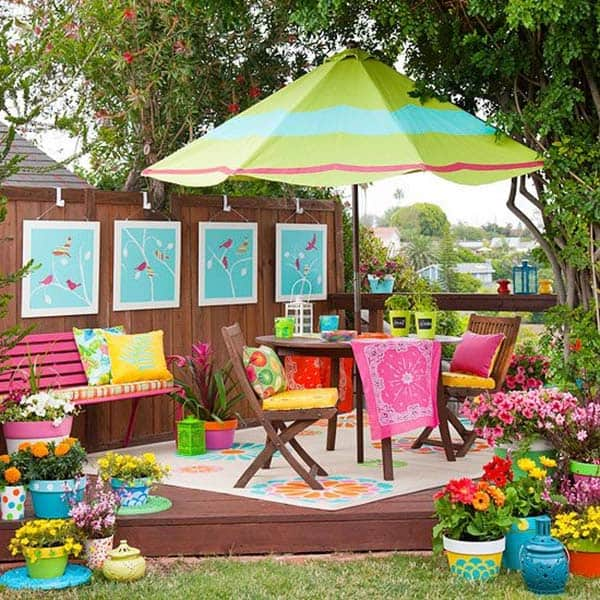 Summer Fun In The Sun 41 Playful Outdoor Living Spaces