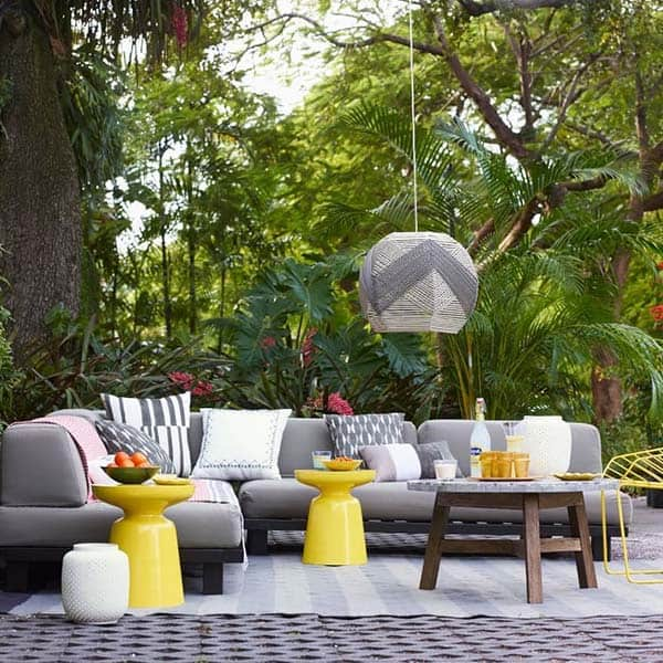 Fun Outdoor Living : Summer fun in the sun: 41 playful outdoor living spaces