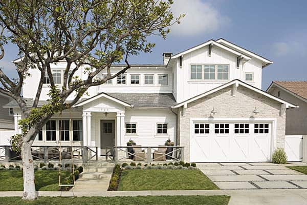 featured posts image for Chic Newport Beach home mixes clean lines with rustic details