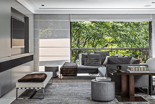 featured posts image for Modern-lux bachelor pad filled with light in Sao Paulo