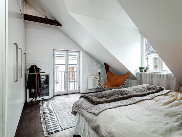 Scandinavian Loft Duplex-15-1 Kindesign