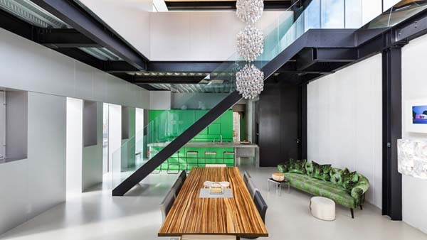featured posts image for Contemporary canalside living with fascinating interiors in London
