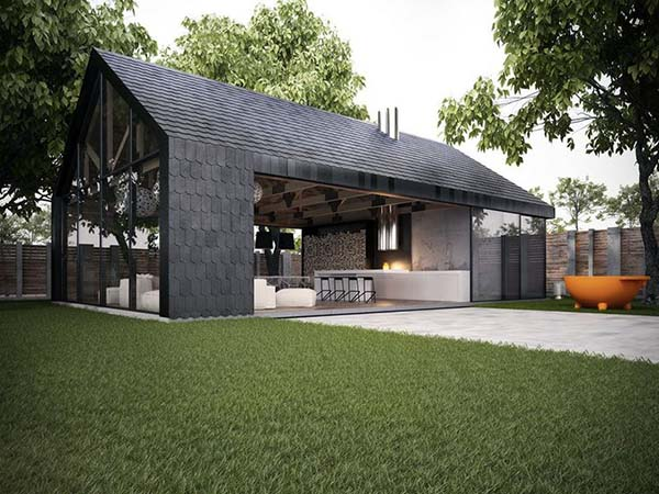 featured posts image for Modern barn stye home makes perfect summer retreat in Kiev