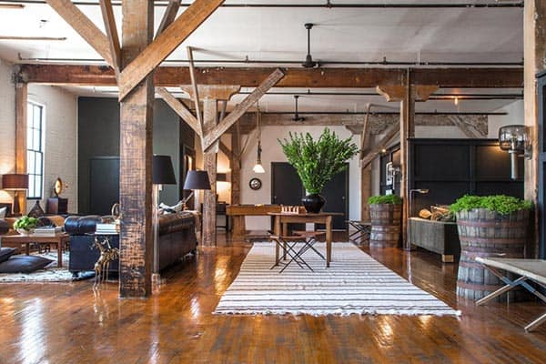 featured posts image for Fascinating Arts District loft in LA mixing DIY and vintage