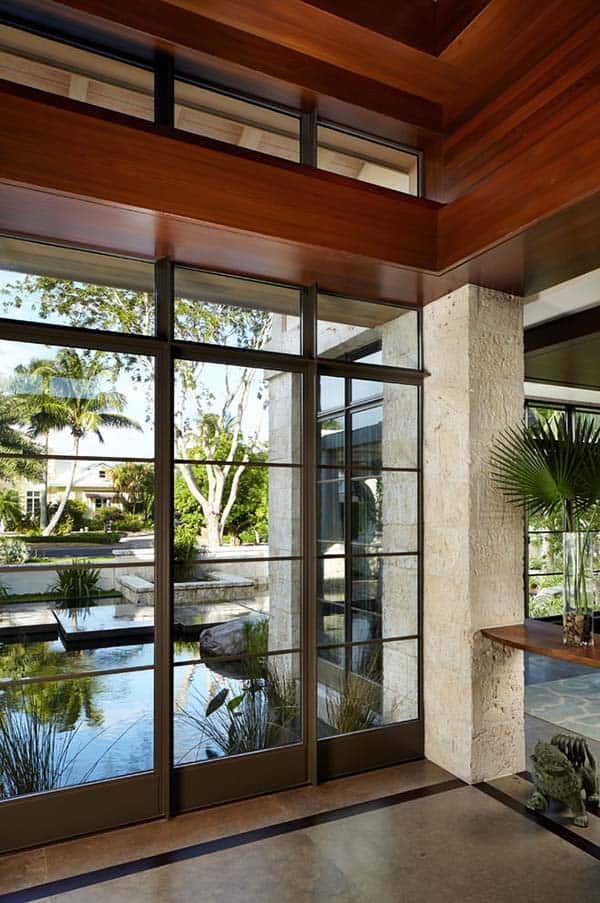 Fusion of asian contemporary architecture in north palm beach - Residence de vacances kirchhoff washer ...
