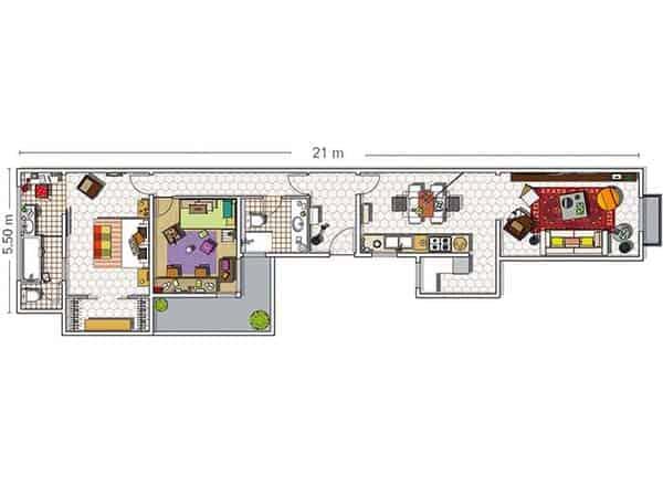 Barcelona Apartment-Bonba Studio-16-1 Kindesign