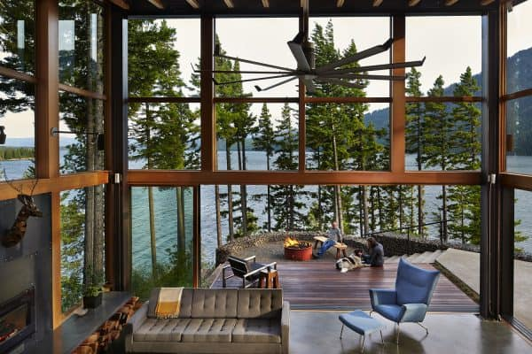 featured posts image for An extraordinary Cascade Mountains retreat with eco-conscious features