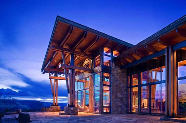 featured posts image for Magnificent mountain retreat with panoramic views in Telluride