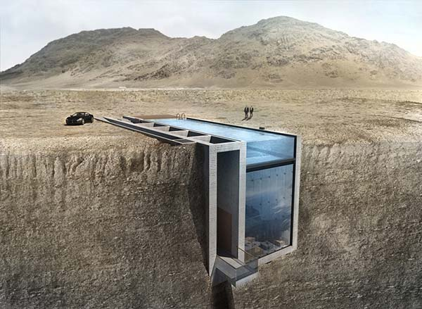 featured posts image for Jaw-dropping dwelling merged cliffside above the Aegean Sea