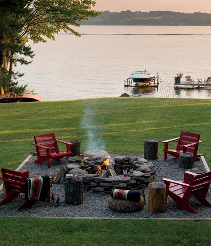 featured posts image for 40 Super cool backyards with cozy fire pits