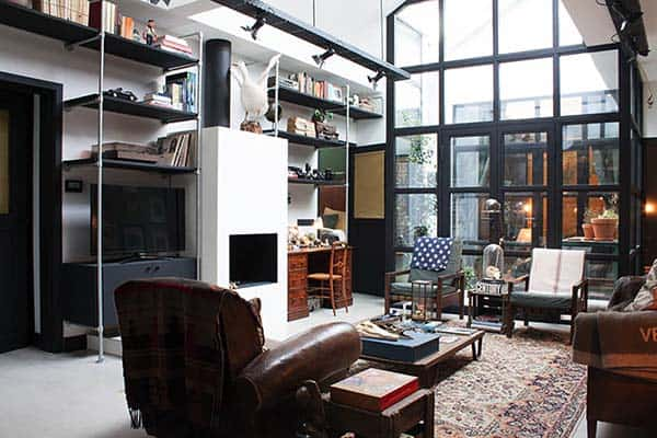 Garage Loft BRICKS Amsterdam 21 1 Kindesign