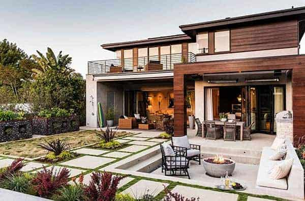 featured posts image for Modern beach style reinvented in a Manhattan Beach house