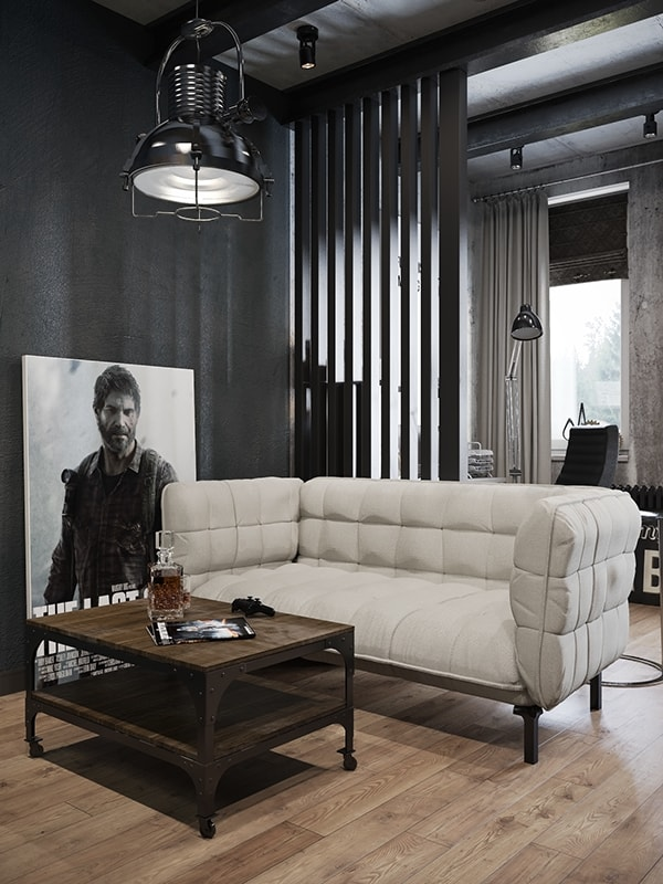 Modern Industrial Apartment-Denis Krasikov-12-1 Kindesign