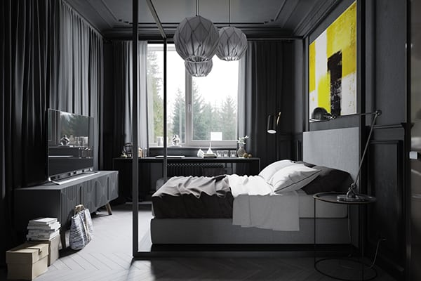 Modern Industrial Apartment-Denis Krasikov-17-1 Kindesign