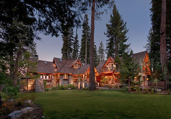 featured posts image for Lake Tahoe house maximizes its privileged lakefront location