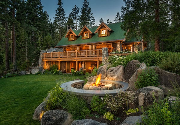 featured posts image for Charming hybrid log home with breathtaking views of Lake Tahoe