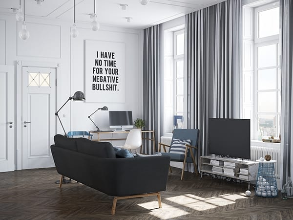 featured posts image for Chic and trendy Scandinavian style apartment in Russia